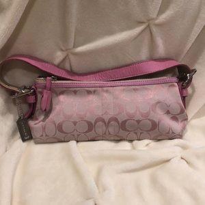 Coach pink purse